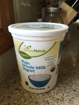 The starter yogurt you have to use has to have live cultures in it. This one from Aldi worked great!